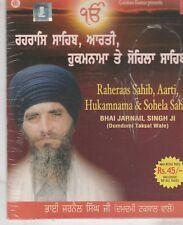 Raheraas sahib ,Aarti,hukamnama & sohela sahib By Bhai Jarnail Singh Ji  [Cd]