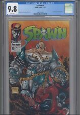 Spawn #6 CGC 9.8 1992 Image Todd McFarlane Story, Cover 1st App Over-kill App