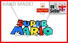 SUPER MARIO (Mario World Mario Kart 8 Deluxe) Necklace HANDMADE, Nintendo Switch