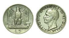 pcc1641_1) Italia regno Vittorio Emanuele III lire 5 aquilino 1928 **