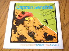 """CAPTAIN SENSIBLE - THERE ARE MORE SNAKES THAN LADDERS  7"""" VINYL PS"""