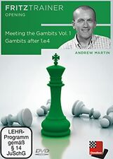 ChessBase: Martin-meeting the GAMBITS vol.1 - GAMBITS after 1.e4 - Nuovo/Scatola Originale