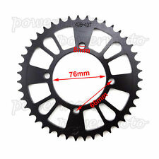43T Rear Sprocket Fit Dirt Pit Bike Chinese 125cc 140cc 150cc 160cc 170cc 180cc