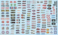 Gofer 11049 Drag Racing Sponsors and Goodies Decal Sheet 1/24 and 1/25