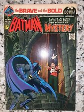 Brave & Bold #93 Batman & the House Neal Adams cover Marvel Bronze-age Comic