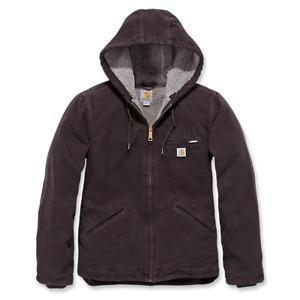 Carhartt Womens Sherpa Lined Sierra Sandstone Jacket Damenjacke WJ141