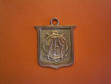 9ct Gold Football Medal - 1910-1911 Senior Cup Won By Henley Football Club