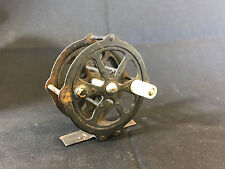 Old Vtg Collectible Metal Skeleton Fly Fishing Fish Reel Made In Japan