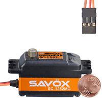 Digital Standard Servo SC-1252MG Low Profil SAVÖX 80101042 810222