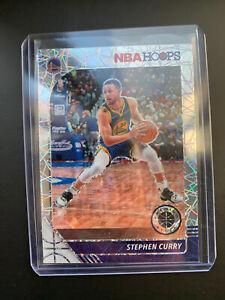 2019-20 STEPH CURRY NBA Hoops Premium Laser Prizm NBA Card #59