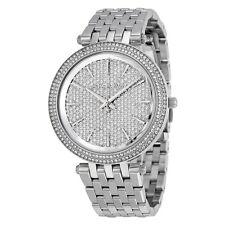Michael Kors Women's Darci Silver-Tone Glitz Watch MK3437
