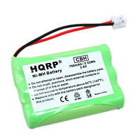 HQRP Battery for GE Model 28108 DECT 6.0 Home Cordless Phone