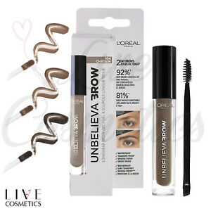 L'Oreal Paris Unbelieva Brow Long Lasting Brow Gel - No Tint *Choose Your Shade*