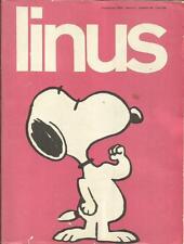 LINUS Anno 4 n° 44 (Milano Libri, 1968) Rivista Fumetti