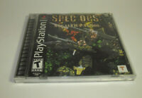 Spec Ops: Stealth Patrol (Sony PlayStation 1, 2000) PS1 Complete CIB Nice Shape