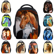 Baby Kids Mini Satchel Cool Horse Book Bag Preschool Backpack Toddler Girls Boys