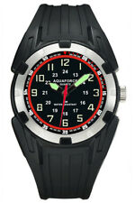 Aqua Force PU Rubber Super Luminous Watch (50m Water Resistant)