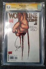 Wolverine Origins 10 3rd Claw Variant 9.4 CGC SS X2 Quesada & Wein 1st App Daken