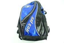 * Nuovo * Pro'S PRO TENNIS Zaino Backpack METALLIZZATO BLU NERO tennisbag Blue Tour