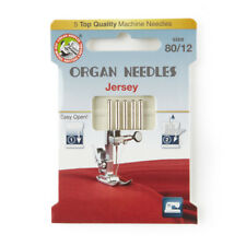 Organ Jersey Size 80 Domestic Sewing Machine Needles (130BP-80-ECO5OR)