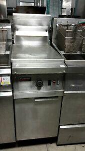 Used 40 lb Frymaster MJ45ESD Natural Gas Fryer