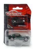 Majorette Model Car metal Premium Vintage Serie Ford Mustang green 1/62