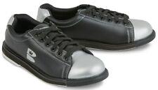 New Brunswick Men's TZone Black/Silver Size 11.5 Bowling Shoes Universal Soles
