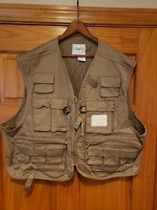 VtG NWT Ausable 24 Pocket Fishing/Trout Vest  XXL  Eddie Bauer HUNTING HIKING