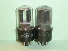 RCA 12SL7GT JAN CRC Mil-Spec Tubes - Matched Pair, Tested