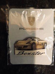 Porsche Boxster Lapel Pin New in Bag