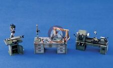 Verlinden 1/35 Panzerwerk Workshop Machines and Tools (Lathe, Drill Press) 1013