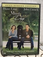 Must Love Dogs (Full Screen), BRAND NEW DVD, Diane Lane, John Cusack - FREE SHIP