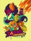 Toxic Crusaders by Tom Whalen Ltd x/100 Screen Print Poster Art Movie Mondo