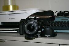 Cámara Canon EOS 1000d Reflejo Digital + Objetivo Canon 18-55