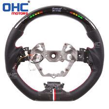 Real Carbon Fiber LED Steering wheel for Toyota C-HR CHR RPM Speed Smart Data
