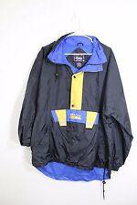 First Down men jacket size Medium Nylon hoodies raincoat windbreaker mesh lining
