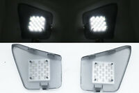 Rear Trunk Boot LED White Tail Gate lights Lamps For 07-13 Mitsubishi Outlander