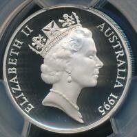 Australia, 1995 Twenty Cents, 20c, Elizabeth II - PCGS PR69DCAM (Proof)