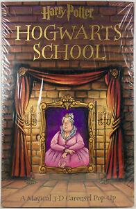 Harry Potter Hogwarts School (2001, 3D Pop-Up Book) New in shrinkwrap