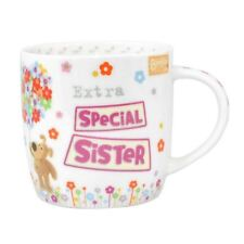 Boofle China Mug Special Sister Tea Cup Coffee Mug Birthday Xmas Gift