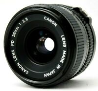 Canon New FD 28mm 1:2.8 Lens *As Is* #CQ18a