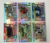 Topps Match Attax Extra 2020/2021 - 6 x Limitierte Auflage LE31 - LE36 20/21
