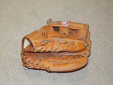 Darrell Evans Game Worn Signed Fielders Glove Detroit Tigers Atlanta Braves
