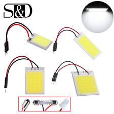 18/24/36/48 SMD COB LED T10 W5W BA9S 12V coche cúpula de luz de Panel Interior Lámpara Bombilla