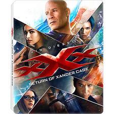 xXx: Return of Xander Cage [Region A SteelBook Best Buy 4K Ultra HD Blu-ray] NEW