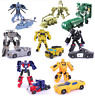 Transformers Action Figures Kids Toys Optimus Prime Ironhide Bumble Bee Robots