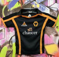 Wolverhampton Wanderers Fc Football Shirt Soccer Jersey Kids Boys 12-18 Months