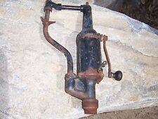 Vintage / Antique Valvoline Oil Co. Gas Service Station Old Auto Lubester Pump