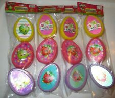 Shopkins Lenticular Easter Eggs with Stickers Lot NEW