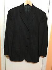 Van Heusen Men's Dark Grey Three Button Suits Size-38S. Pants 36-29